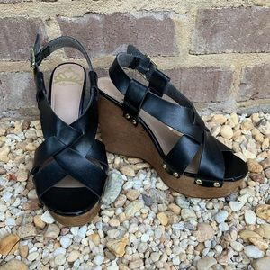 Fergalicious wedge shoes sz 7.5